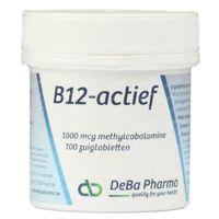 Deba Vitamine B12 Methylcobalamine 100  comprimés à sucer