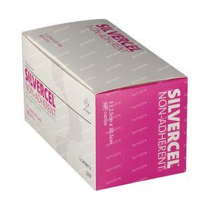 Silvercel Pflaster Nicht Klebend Hydro Alginate 2,5x30,5 cm CAD7230 5 st