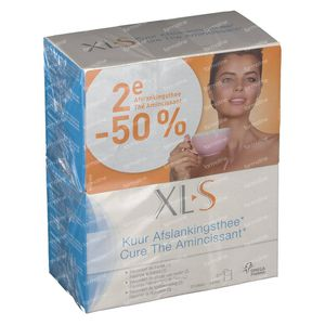 XLS Cure Slimming Tea 2nd At -50% 2x20 St Bags