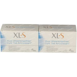 XLS Cure Slimming Tea 2nd At -50% 2x20 bags