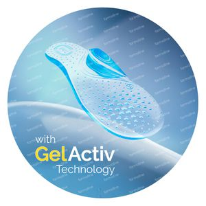 Scholl GelActiv Bogen Unterstützung Everyday Heels 1 st
