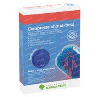 Laboratoire Marque Verte Chaud-Froid Compresse Multizone Small 10x15cm 1 pièce