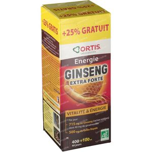 Ortis Ginseng Dynasty Imperial + 100ml For FREE 400 + 1 ml