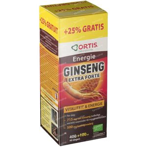Ortis Ginseng Dynasty Imperial + 100ml GRATIS 400 + 1 ml