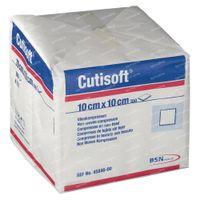 Cutisoft Non Stérile 10x10cm 100 st