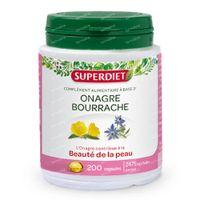 Superdiet Onagre - Bourrache 200  capsules