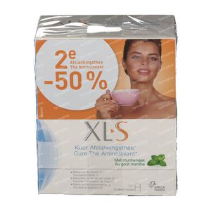 XLS Slimming Tea Mint 2nd At -50% 2x20  sachets