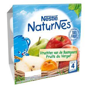 Nestlé NaturNes Vruchten Van De Boomgaard +6 Maanden 4x100 g