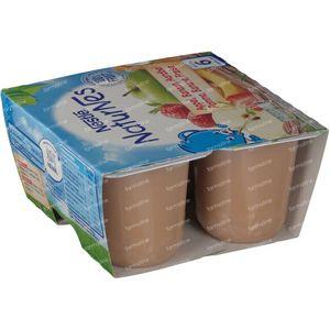 Nestlé NaturNes Appel Banaan Aardbei +6 Maanden 4x100 g