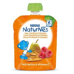 Nestlé NaturNes Peer Framboos Granen +6 Maanden 90 g