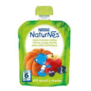 Nestlé NaturNes Appel Pompoen Bosbes +6 Maanden 90 g