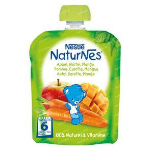 Nestlé NaturNes Appel Wortel Mango +6 Maanden 90 g