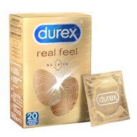 Durex Real Feeling Préservatifs 20 pièces