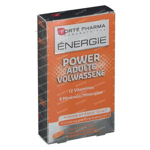 Forté Pharma Energie Power Adulte 30 tabletten