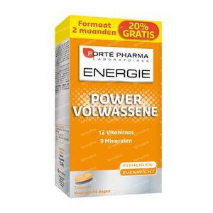 Forté Pharma Energy Power Adult 56 tablets