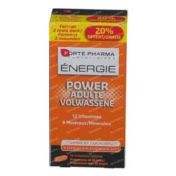 Forté Pharma Energie Power Erwachsene 56 tabletten