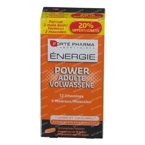 Forté Pharma Energie Power Volwassene 56 tabletten