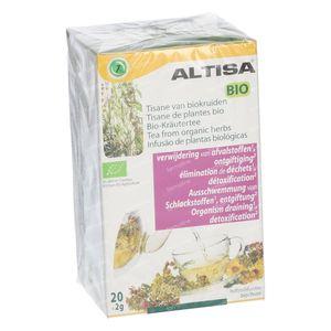 Altisa Tisane Ontgifting Bio 2 x 20 g zakjes