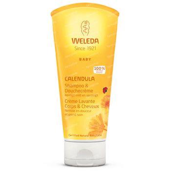 Weleda Baby Calendula Shampoo en Douchecrème 200 ml