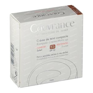 Avène Couvrance Getinte Compact Creme Comfort 05 Soleil 10 g
