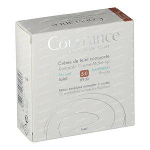 Avène Couvrance Crema Compacta Enriquecida Sin Aceite 05 Soleil 10 g