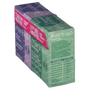Nutrisante Manhae 2 Monaten + Manhae Serenity Mit -50% 2x60 tabletten