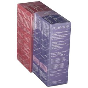 Nutrisante Manhae 3 Monaten + Manhae Weight Control Mit -50% 90+120 kapseln