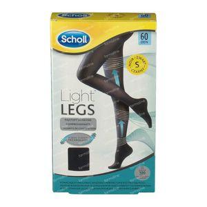Scholl Light Legs 60DEN Small Noir 1 pièce