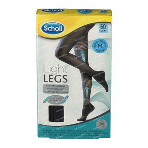Scholl Light Legs 60DEN Medium Noir 1 pièce