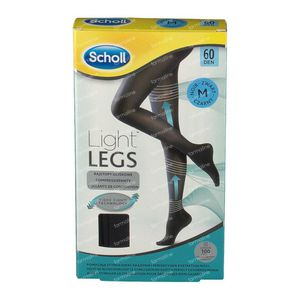 Scholl Light Legs 60DEN Medium Schwarz 1 st