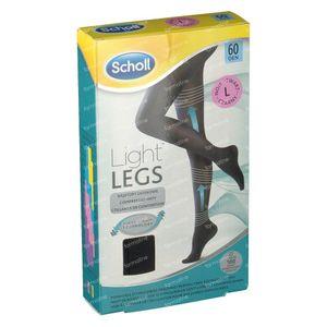 Scholl Light Legs 60DEN Large Schwarz 1 st
