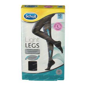 Scholl Light Legs 60DEN Large Noir 1 pièce