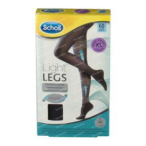 Scholl Light Legs 60DEN Extra Large Noir 1 pièce
