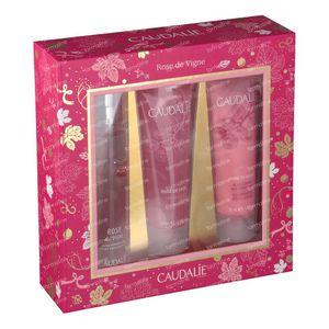 Caudalie Kerstkoffer Rose Des Vignes 3x50 ml