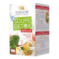Biocyte Soupe Detox Minceur 16x9 g poudre