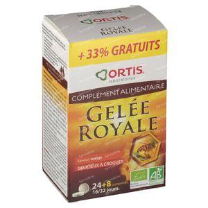 Ortis Koninginnenbrij Bio + 8 Tabletten GRATIS 24 + 8 kauwtabletten