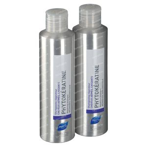 Phyto Phytokeratine Shampooing Réparateur Duo 2x200 ml