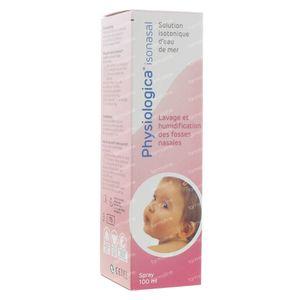 Physiologica Isonasal Spray Duo Promo 2e -50% 2x100 ml