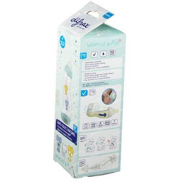 Difrax Biberon S Natural Woezel & Pip 250 ml
