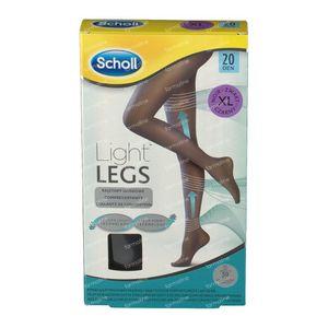 Scholl Light Legs 20DEN Extra Large Schwarz 1 st