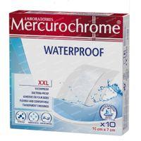 Mercurochrome Pleisters XXL Waterproof 10 stuk