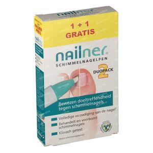 Nailner Pen Duopack 1 + 1 GRATIS 8 ml
