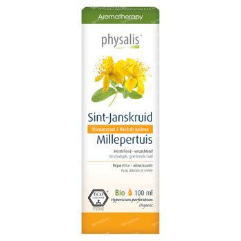 Physalis Sint-Janskruid Oliemaceraat Bio 100 ml