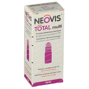 Neovis Total Solution Ophtalmique 10 ml
