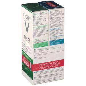 Vichy Dercos Anti-Roos Shampoo Sensitive + Kalmerende Shampoo Vet Haar 1+1 GRATIS 2 x 200 ml