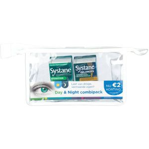 Systane Day & Night Combipack + Trousse 1 pièce