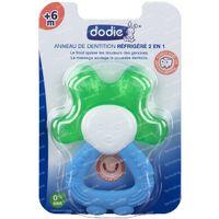 Dodie Bijtring Cool 2-In-1 Blauw/Groen 6Maanden+ 1 st