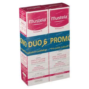 Mustela Maternité Crème Prévention Vergetures Avec Parfum Duo Prix Réduit 2 x 250 ml