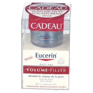 Eucerin Volume-Filler Day Care For Dry Skin + FREE Night Care 50+20 ml