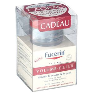 Eucerin Volume-Filler Dagcreme Normale Tot Gemengde Huid + GRATIS Nachtcreme 50+20 ml
